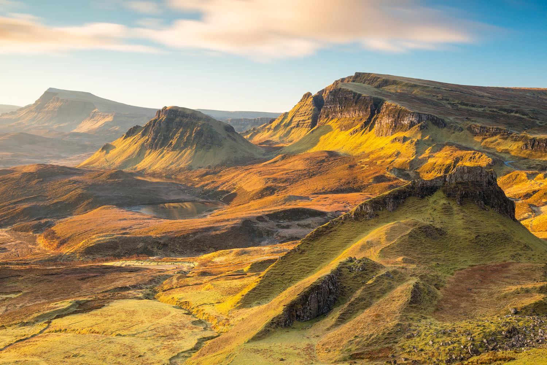 The Quiraing, Trotternish peninsula on the Isle of Skye (Scotland)