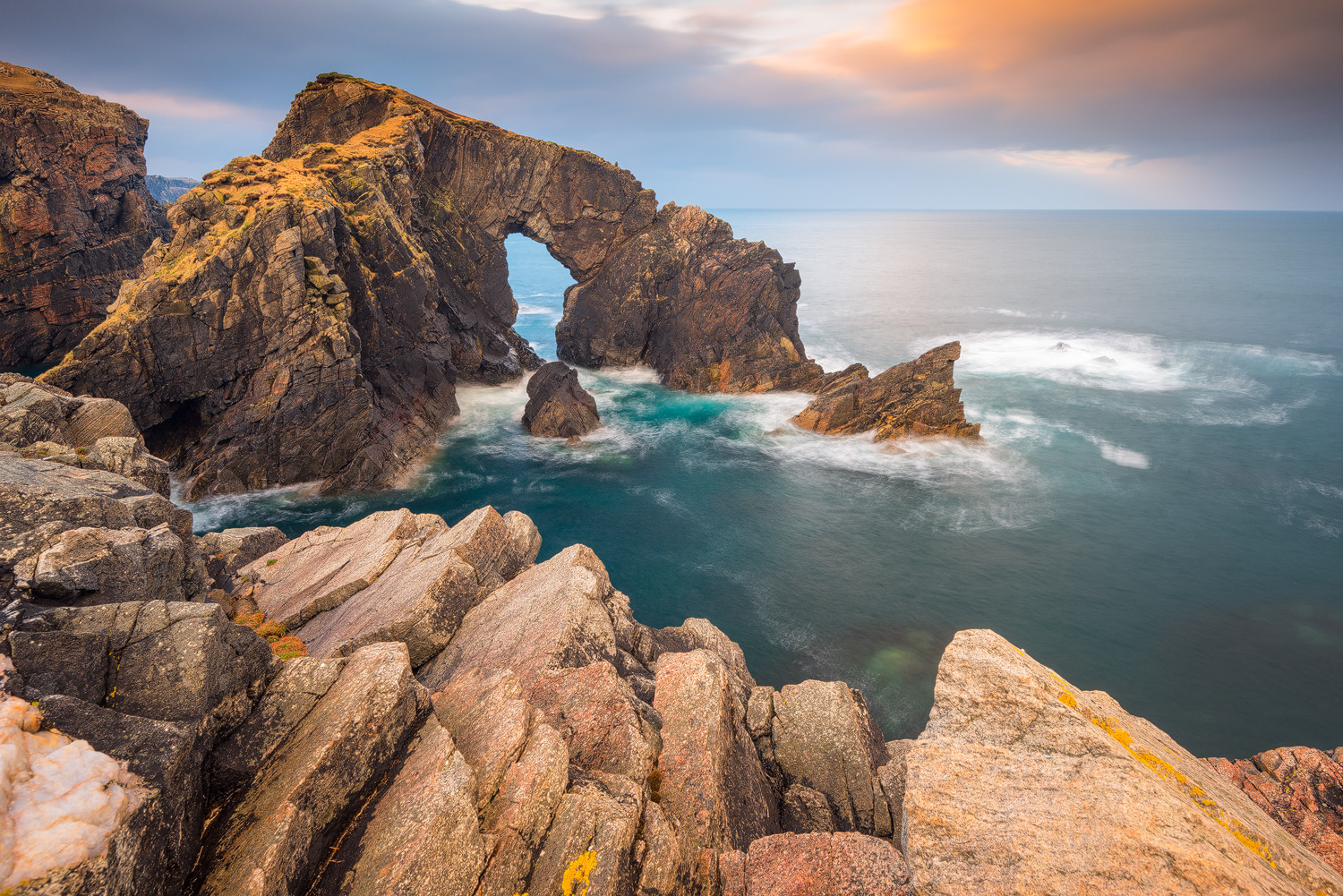 Stac a' Phris Arch, Isle of Lewis (Outer Hebrides, Scotland)