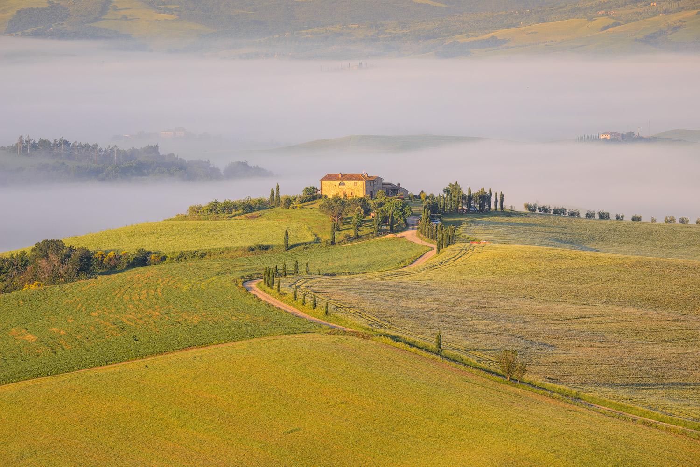Parco Naturale della Val d'Orcia, Toscana (Siena)