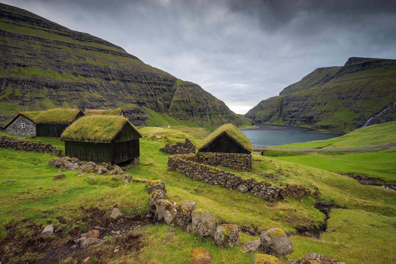 Saksun, isle of Streymoy (Fær Øer)