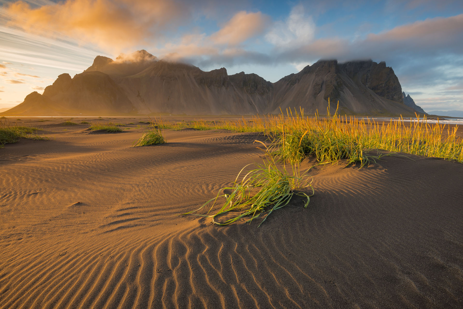 Vesturhorn in South East Iceland (close to Höfn).