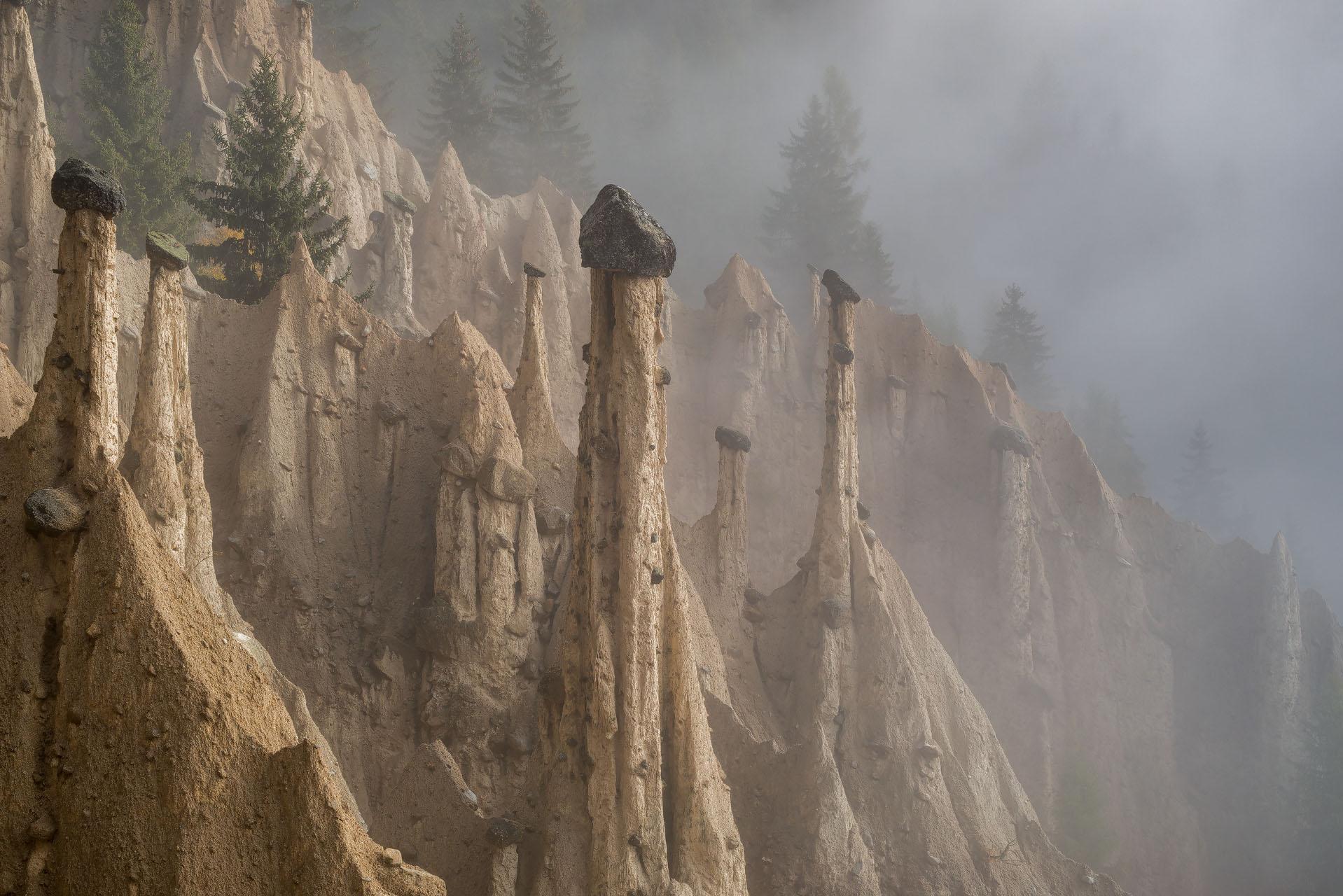 Le Piramidi di Terra, Perca (Val Pusteria)