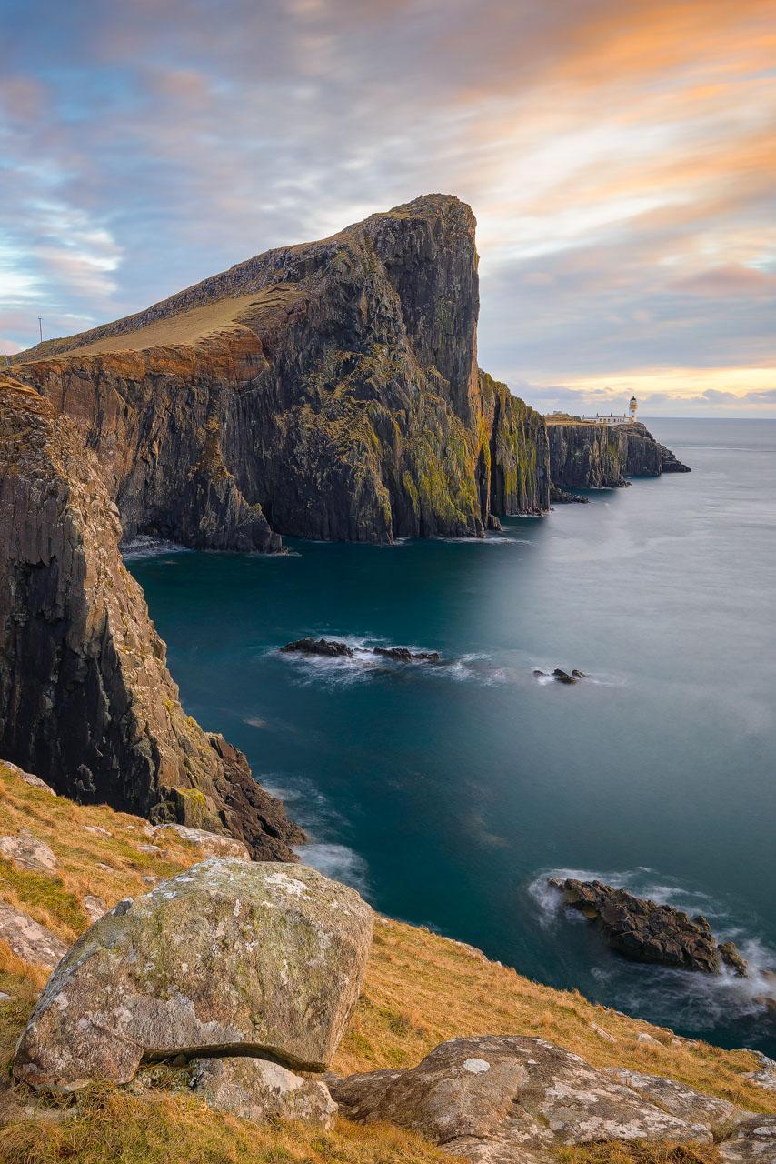 The Neist Point Lighthouse, Isle of Skye (Scotland)