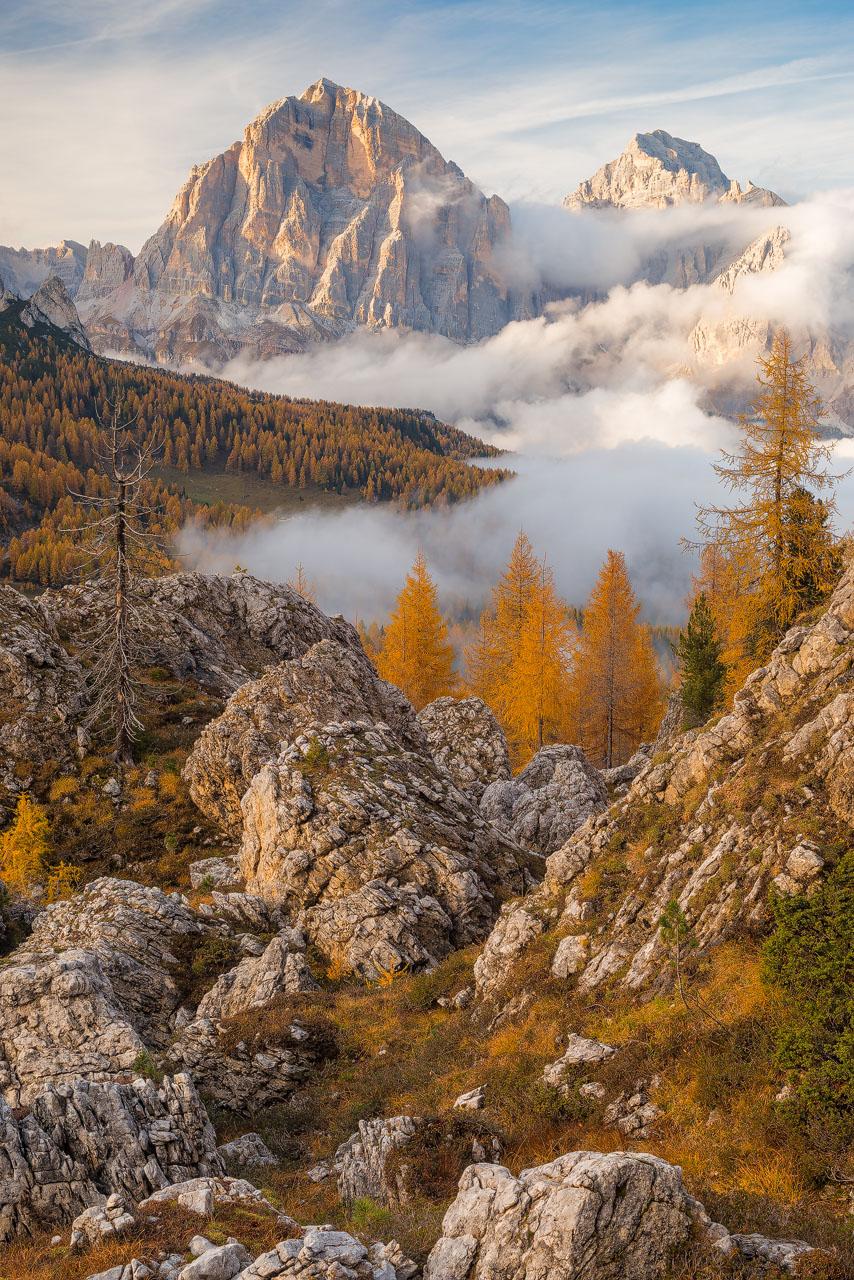 Il massiccio montuoso delle Tofane, Dolomiti Ampezzane (BL)
